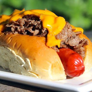 Philly Cheesesteak Dog