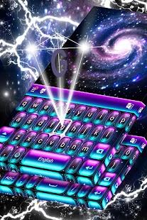 Klávesnice Neon Galaxy - náhled
