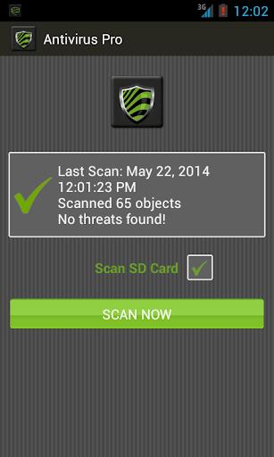Free Antivirus Pro 3.1 screenshots 1