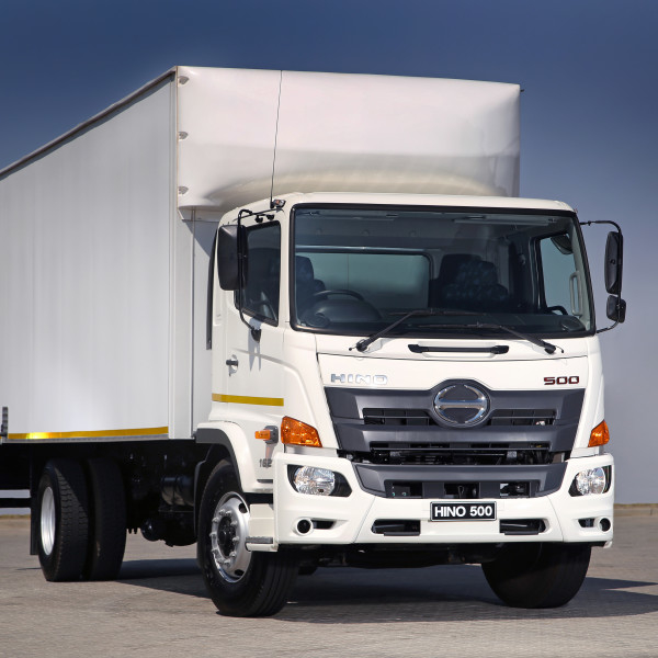 Hino's heavy commercial sales, which included the new Hino 500 Wide Cab (pictured), were up 19.3% in SA last year.