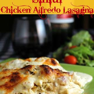 Sinful Chicken Alfredo Lasagna