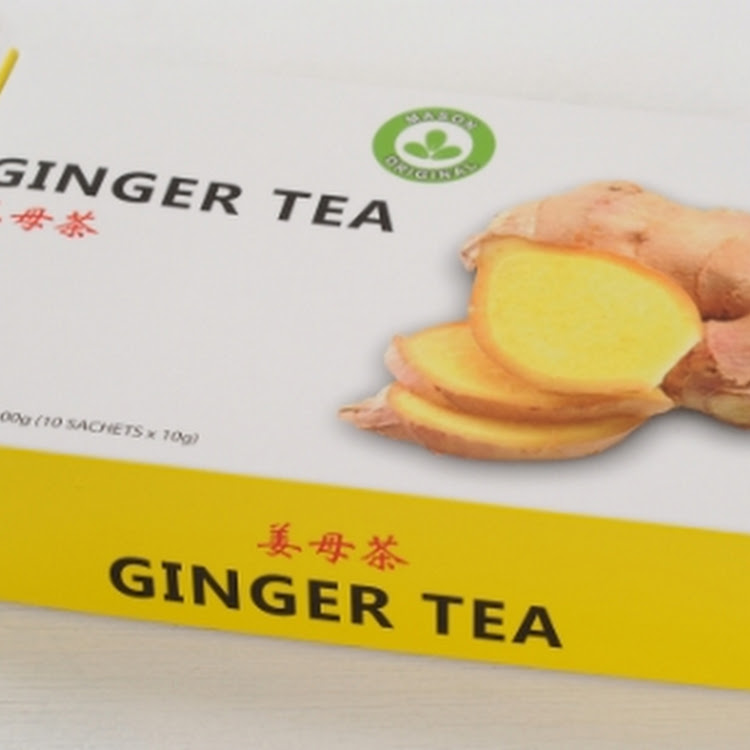 Mason Original Ginger Tea (100g) by The Health Story Enterprise