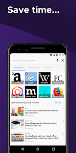 App Firefox Browser: fast, private & safe web browser APK for Windows Phone