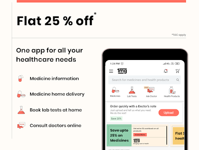 1mg - Online Medical Store & Healthcare App Screenshot