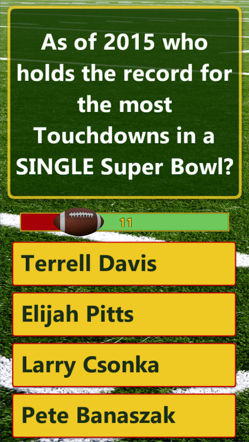 Big Game Trivia Fun- screenshot