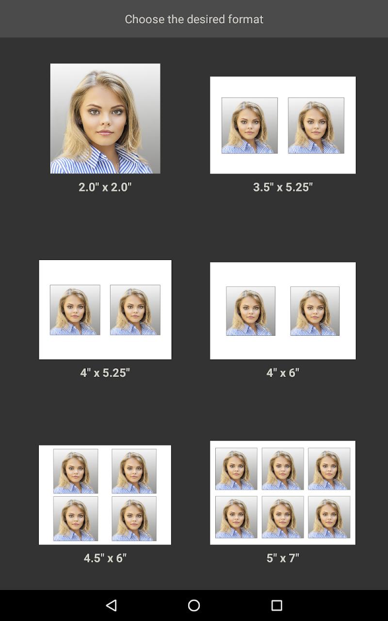 Biometric Passport Photo Screenshot 11