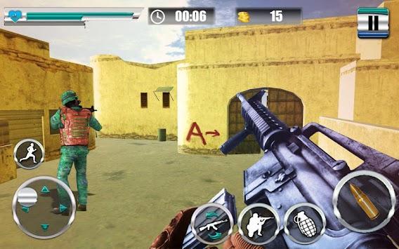 FPS Combat Commando Shooter: Shooting Arena 2018