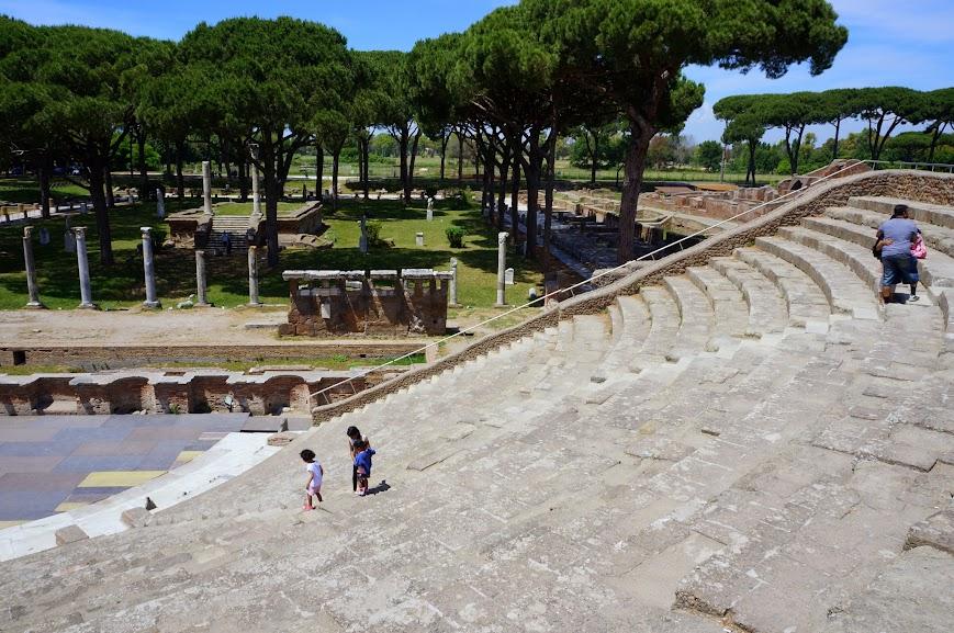 Amphitheater in Ostica Antica