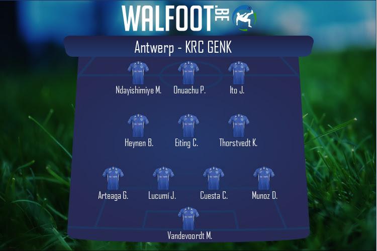 KRC Genk (Antwerp - KRC Genk)