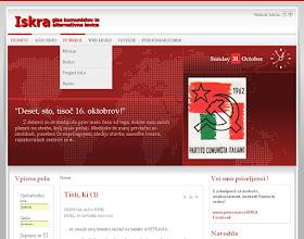 Photo: 2009 - Iskra (glas komunistov in alternativne levice) www.iskraonline.eu