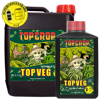 Top Veg Top Crop 250ml Fertilizante Cultivo Indoor