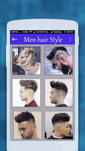 Men hairstyle set my face 2017 1.0.8 screenshots 7