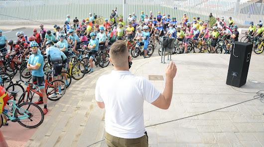 200 ciclistas recorren el Bajo Andarax