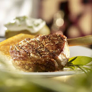 Seasoned Veal Steak.