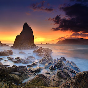 sunset 2 Payangan by Hery Sulistianto - Landscapes Sunsets & Sunrises (  )