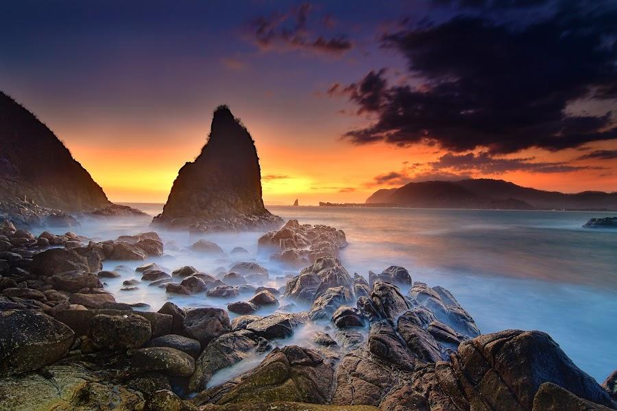 sunset 2 Payangan by Hery Sulistianto - Landscapes Sunsets & Sunrises (  )