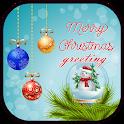 Merry Christmas Greeting 2017 icon