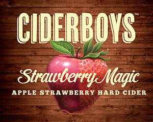 Logo of Ciderboys Strawberry Magic