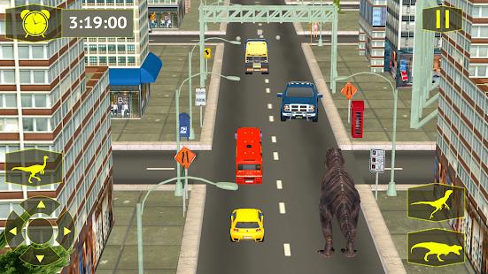 Wild Dinosaur Simulator City Attack - náhled
