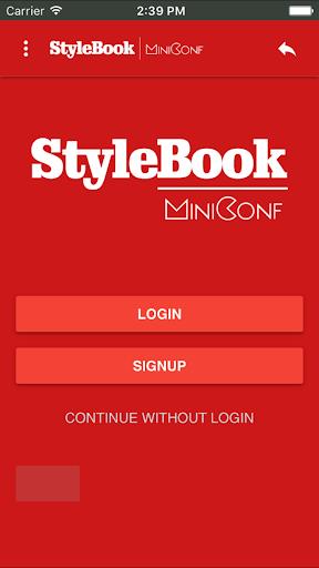 StyleBook Miniconf screenshot 1