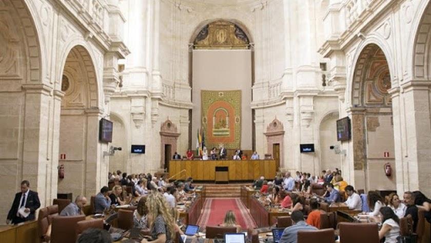 El Parlamento de Andalucía, en una foto de archivo.