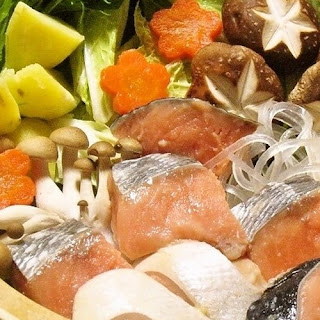 Salmon & Vegetable Hotpot