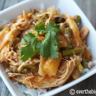 Thai Coconut Chicken Curry.