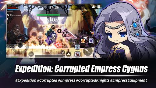 MapleStory M - Open World MMORPG 1.4100.531 APK MOD screenshots 2