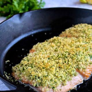 Salmon Oreganata.