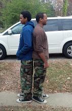 Photo: who's taller?