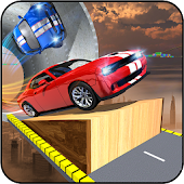 Mega Ramp Car Stunts Extreme Car Impossible Tracks