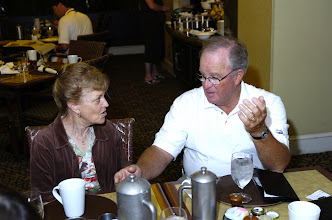 Photo: Susan Cramer Peters, Tom Clark, husband of Jean Golisch Clark