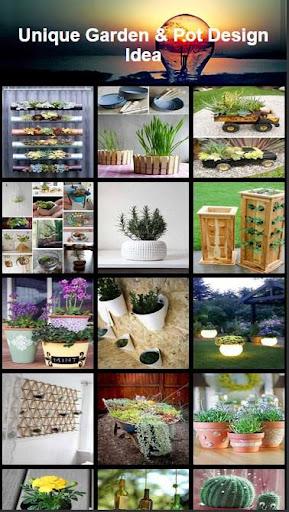 Unique Flower Pots Idea