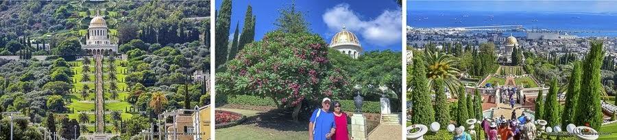 Отзыв об экскурсии в Хайфу. Бахайские сады.