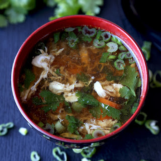 Spicy Egg Drop Soup