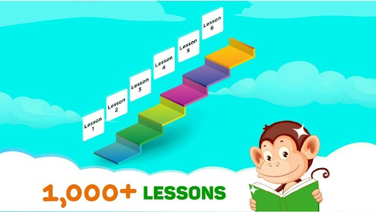 Monkey Junior: Learn to read English, Spanish&more 3