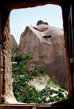 Photo: Fenêtre sur la Cappadoce