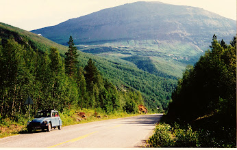 Photo: Not a lot of traffic ... Norway 1993