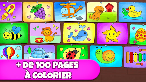 Code Triche Jeu de coloriage: coloriage, peinture, dessin fluo APK MOD screenshots 4