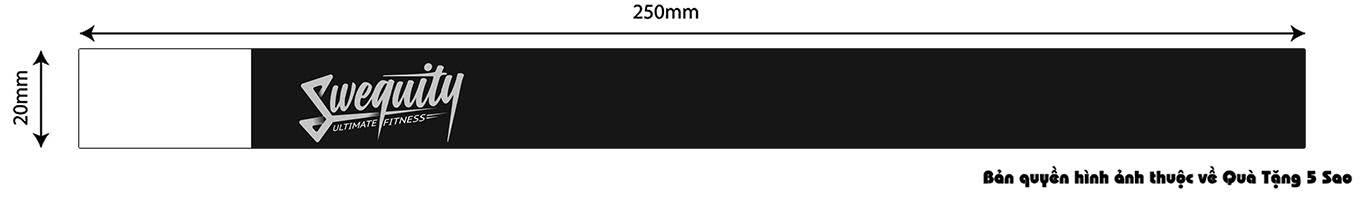 Thiết kế vòng tay giấy Tyvek có mã số (số nhảy tự động)