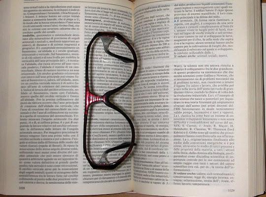occhiali per Buona lettura di ApiceApice