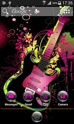 Pink Black AdwTheme - screenshot