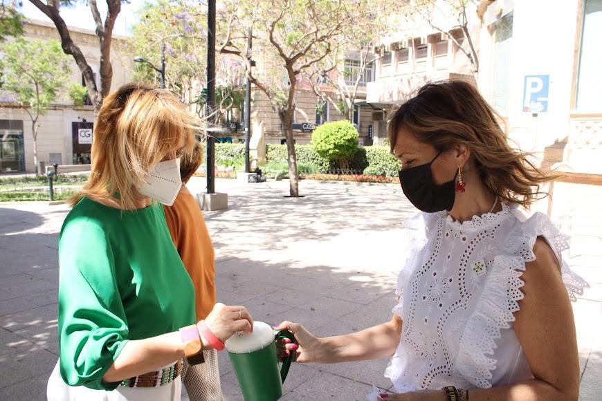 Cuestación de la concejala Ana Martínez Labella.