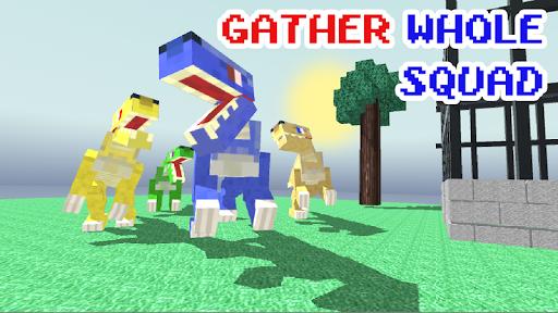 Blocky Dino Park: Raptor Attack 0.4 screenshots 1