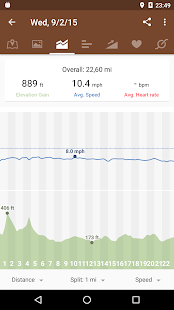 Runtastic Mountain Bike GPS Screenshot 7