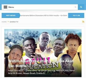 GhanaSky GTV, Adom TV screenshot 0
