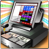 Supermarket Cash Register - Girls Cashier Games icon