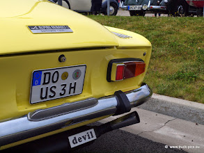 Photo: Der Teufel fährt mit...        click for more: www.truck-pics.eu