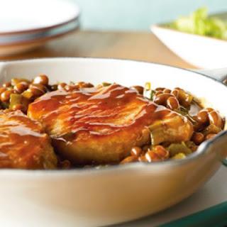 Skillet Pork Chops & Beans