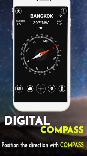Digital Compass for Android 10.68 screenshots 2